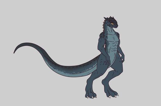 Reptilian Girl 2