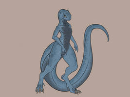 Reptilian Girl 3