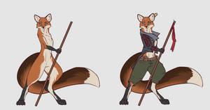 Fox girl Rey