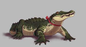 Commission: Crocodile Companion