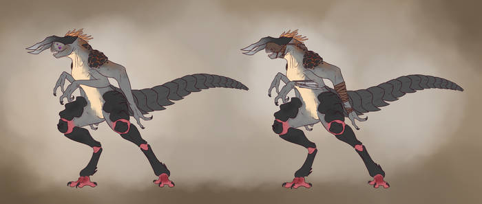 Commission: Giant Monster