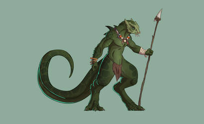 Adopt: Lizardfolk Hunter