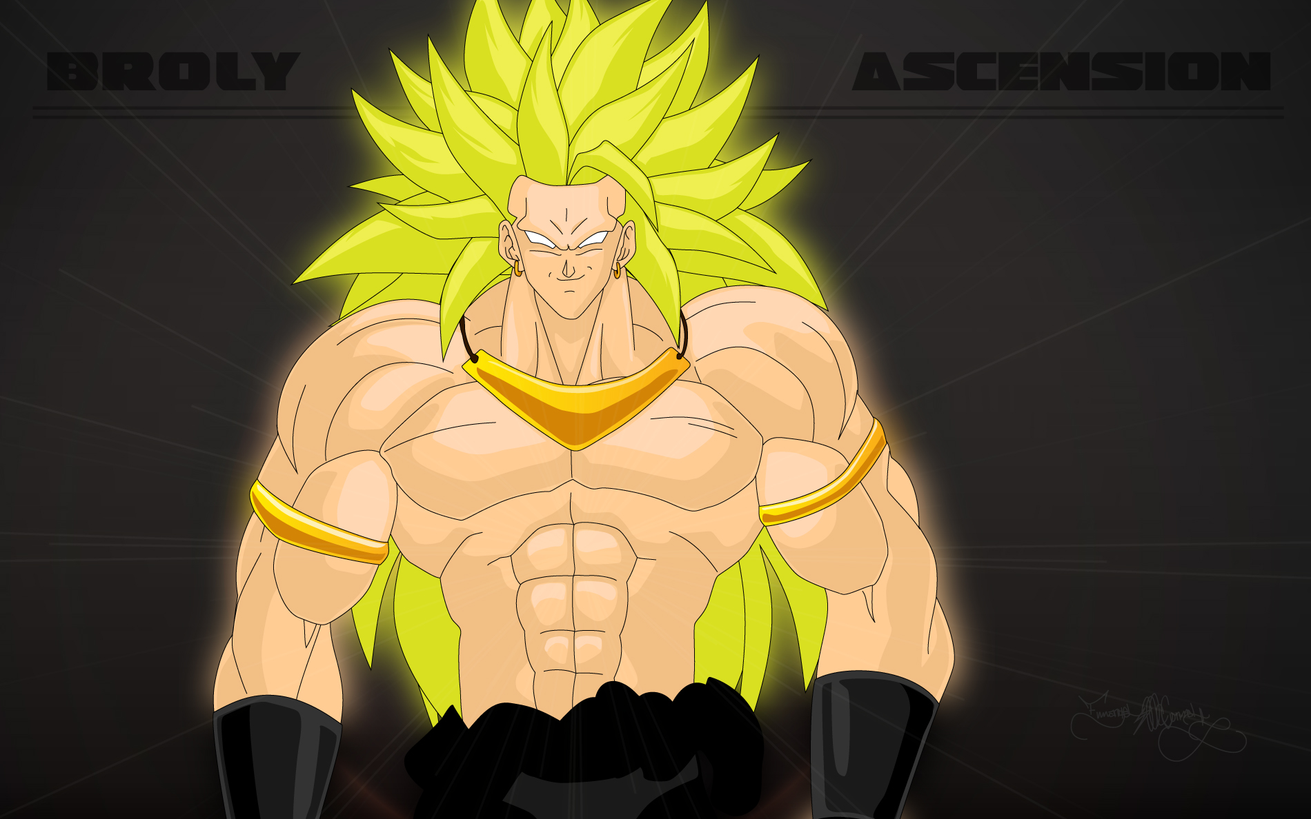 broly ascension wallpaper by spartan1028 on deviantart