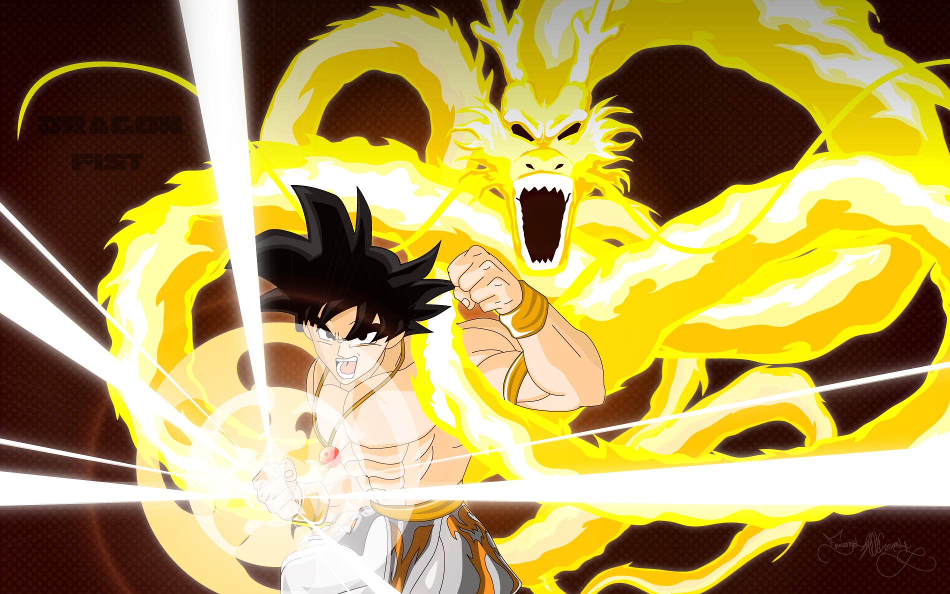 Yellow dragon fist