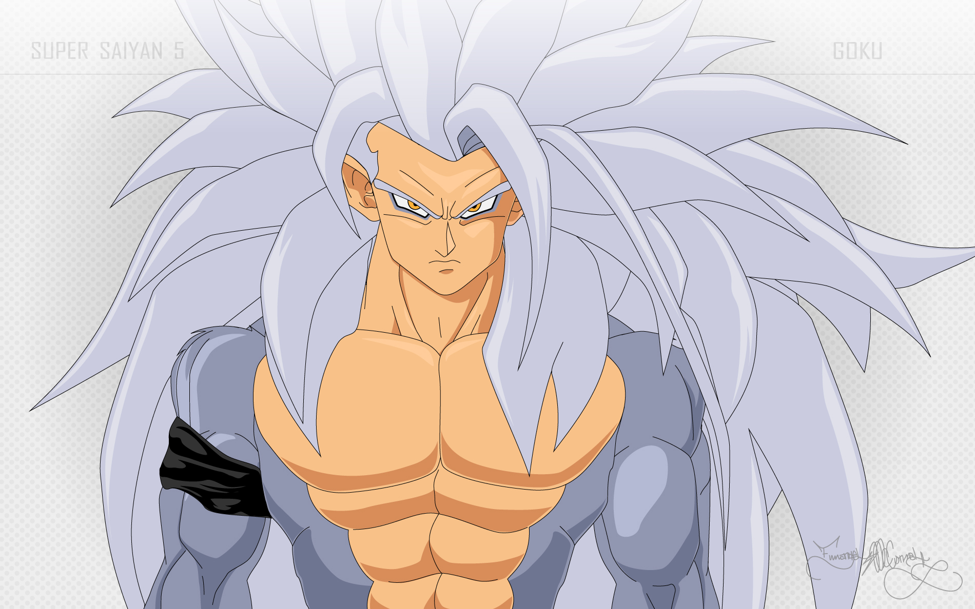 goku super saiyan 5: