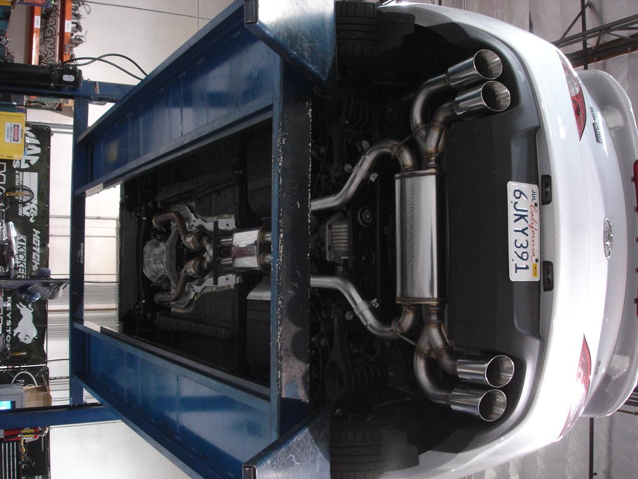 Magnaflow Proudly Presents 38l Stainless Cat Back Exhaust Hyundai 1 8l Engine Genesis Forum