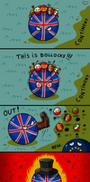 Britain Ball Has Had Enough
