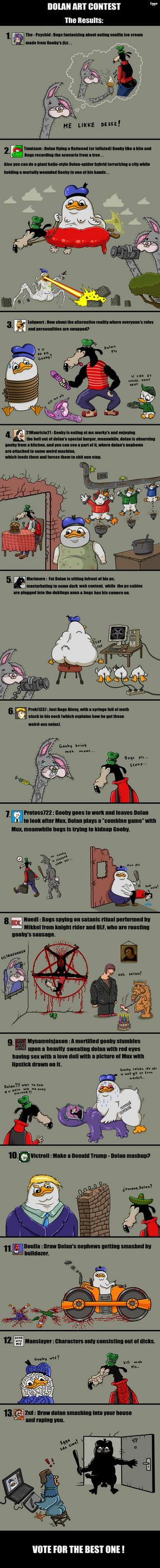 Dolan Art Contest by 1gga
