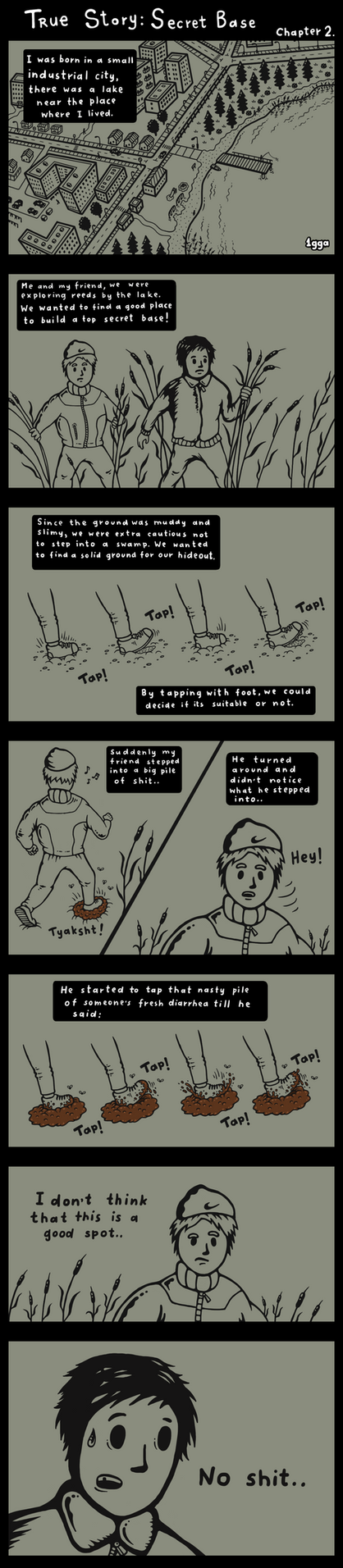 True Story: Secret Base Chapter 2 by 1gga