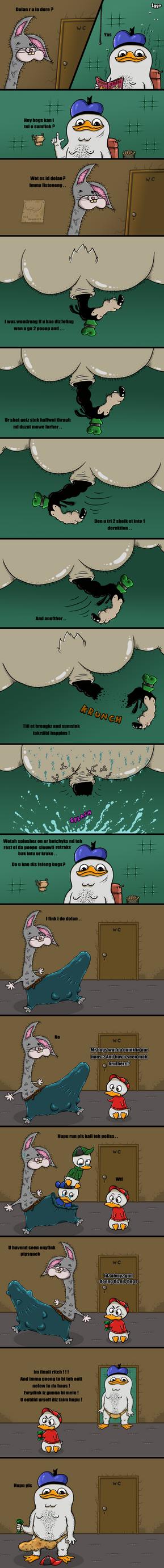 Dolan Toilet by 1gga