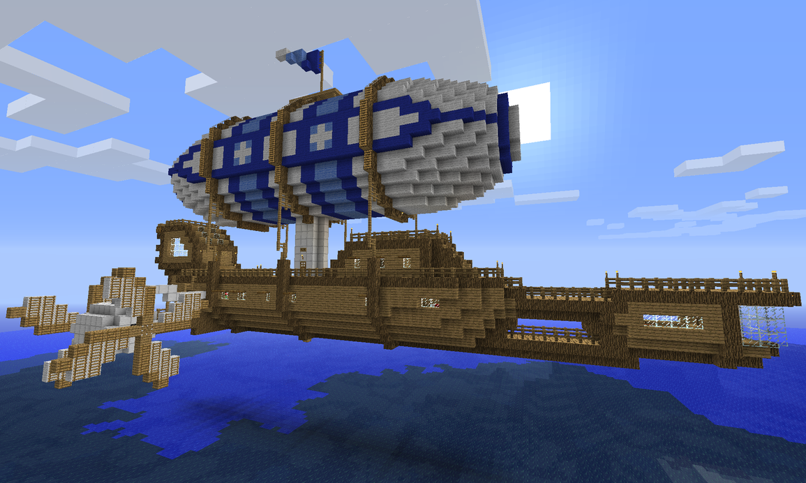 minecraft fantasy airships wwwimgkidcom the image