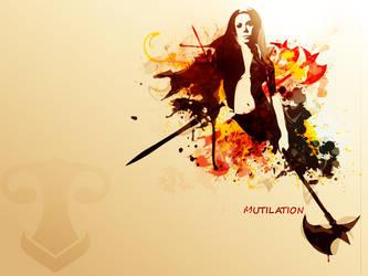 Mutilation by r-fl