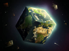 Cube Night by r-fl
