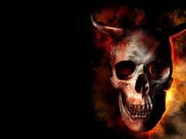 Dark skull by r-fl
