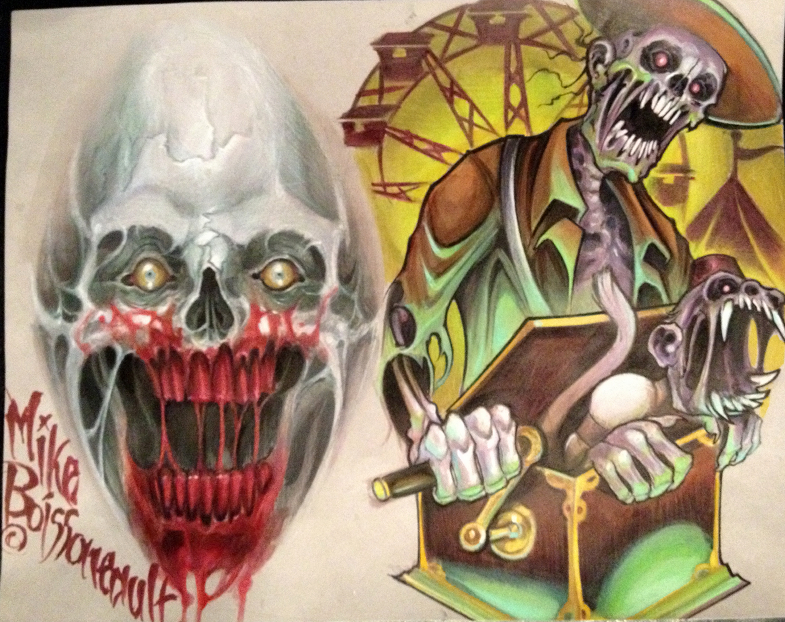 Zombie Tattoo Sketches Zombie Tattoo Flash by