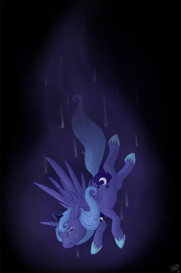 MLP: FiM - Luna's Descent by PterosaurPony