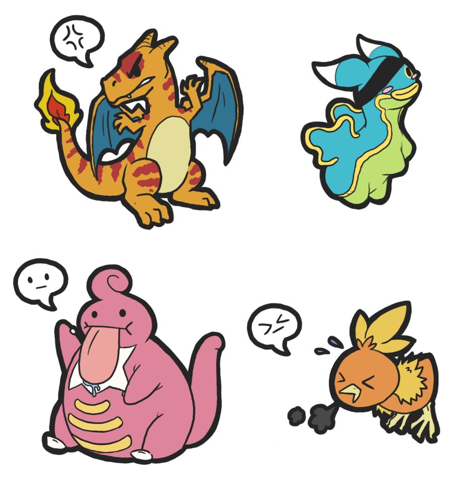 Pokemon Chibi's by PterosaurPony on DeviantArt