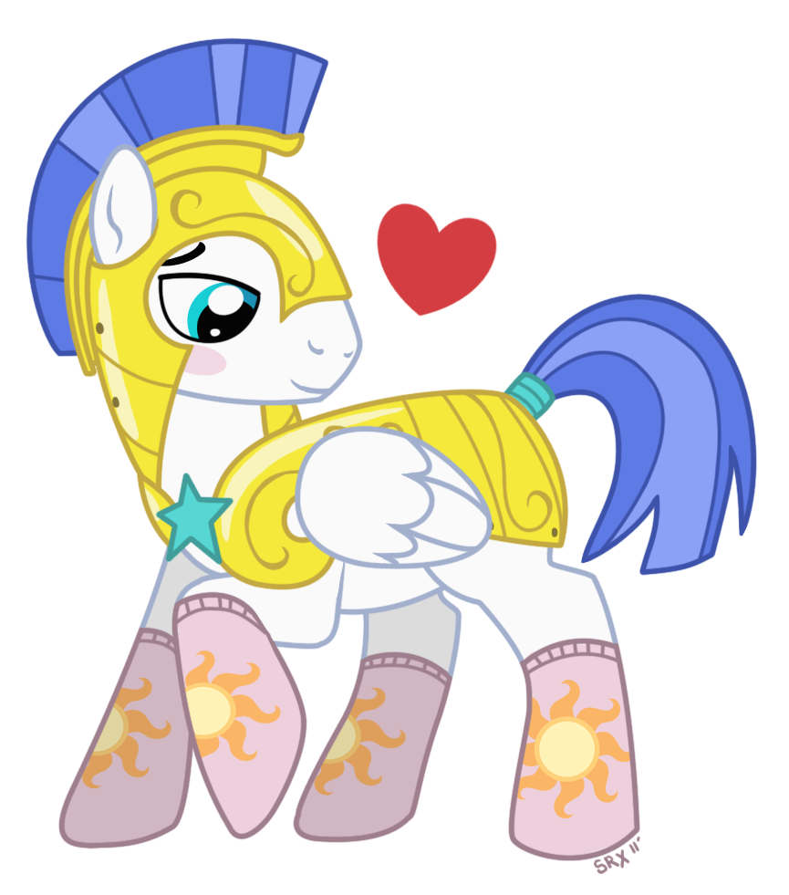 Royal Guard Pony in Socks by PterosaurPony