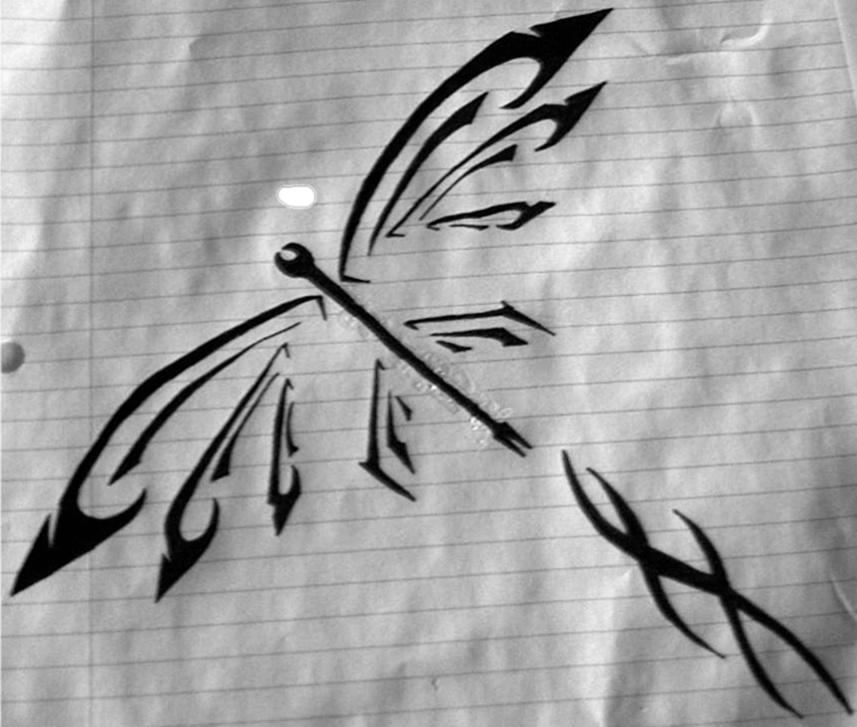 dragon fly design by xxfreexxlancerxx