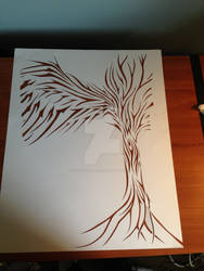 tree cut out