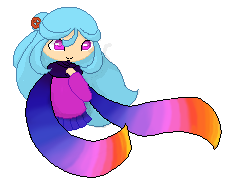 Evening Scarf Pixel by TheCherryGoldfish