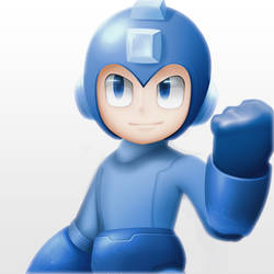 Megaman by Naikoh