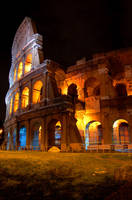 Colloseum at night by chalee-80