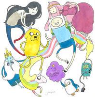 Adventure Time by r-y-n