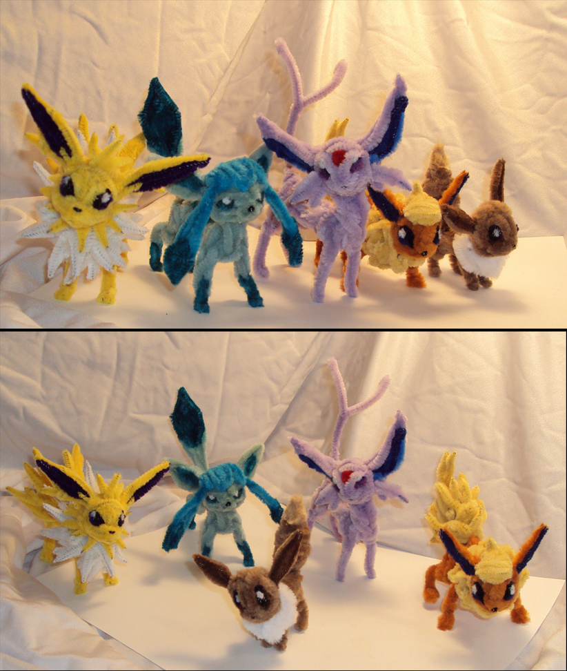 Team Eevee so far... by Amelius