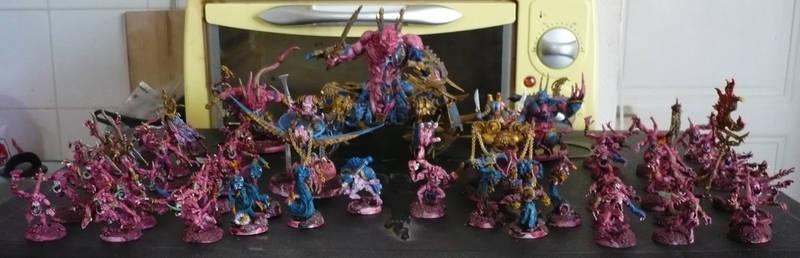 Tzeentch army