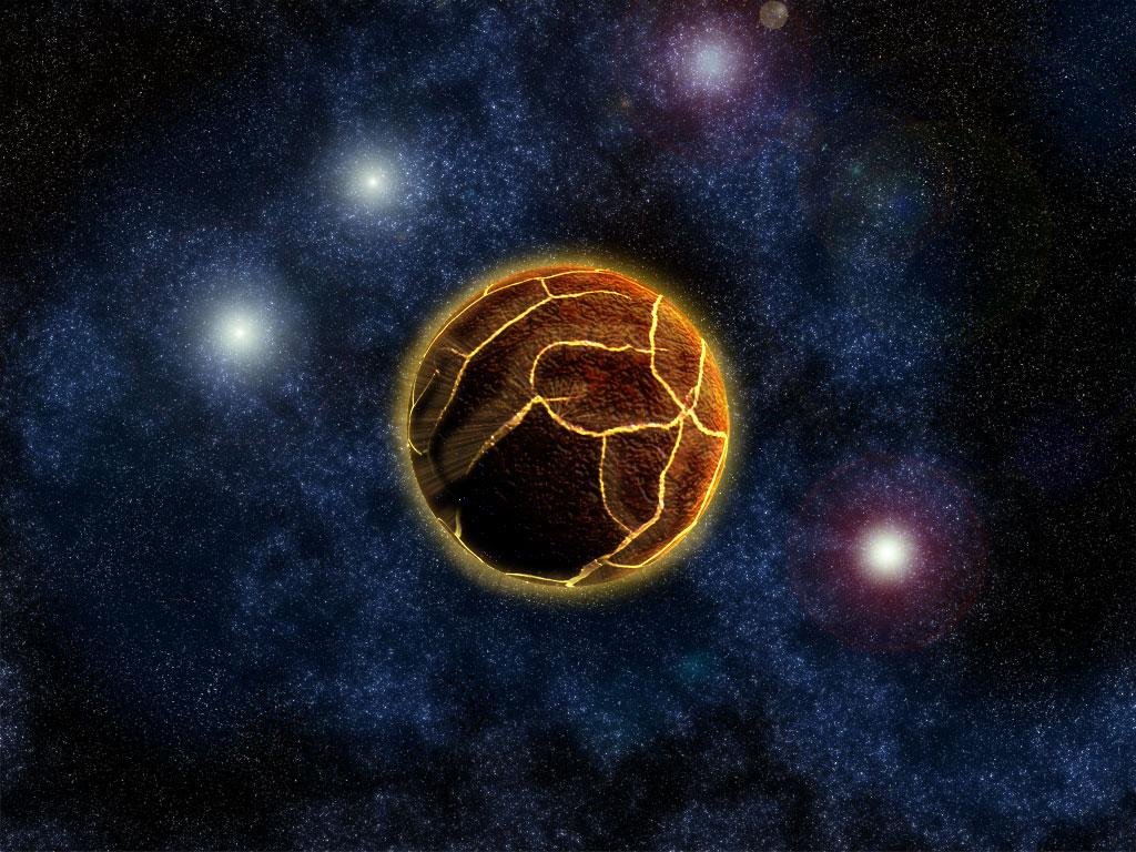 Galaxy 4 planet's death