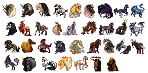 Pixel Icon Masterpost by Ehrendi