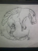Cyborg Dinosaur by Karin999