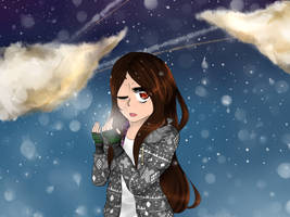 -:A Cold Night: by Karin999