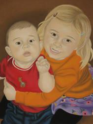Zoe and Finn by HappyRaincloud