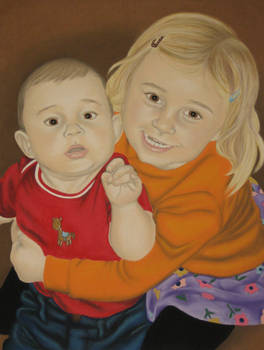 Zoe and Finn