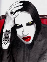 Marilyn Manson by HappyRaincloud