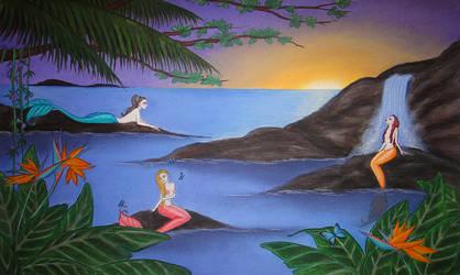Mermaid Lagoon by HappyRaincloud