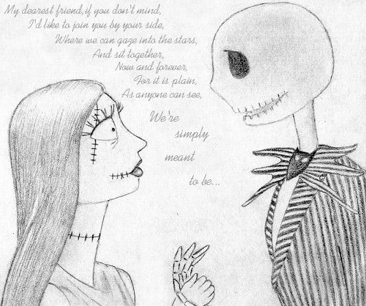 Jack and Sally by HappyRaincloud on DeviantArt