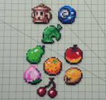 Items and Fruit - Animal Crossing Sprites