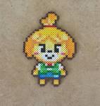 Chibi Isabelle - Animal Crossing: NL Bead Sprite