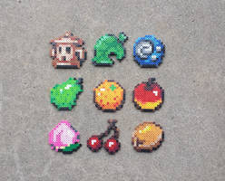 Items v.2 - Animal Crossing Perler Bead Sprites by MaddogsCreations