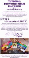 How to Make Perler Bead Sprites! - A Tutorial