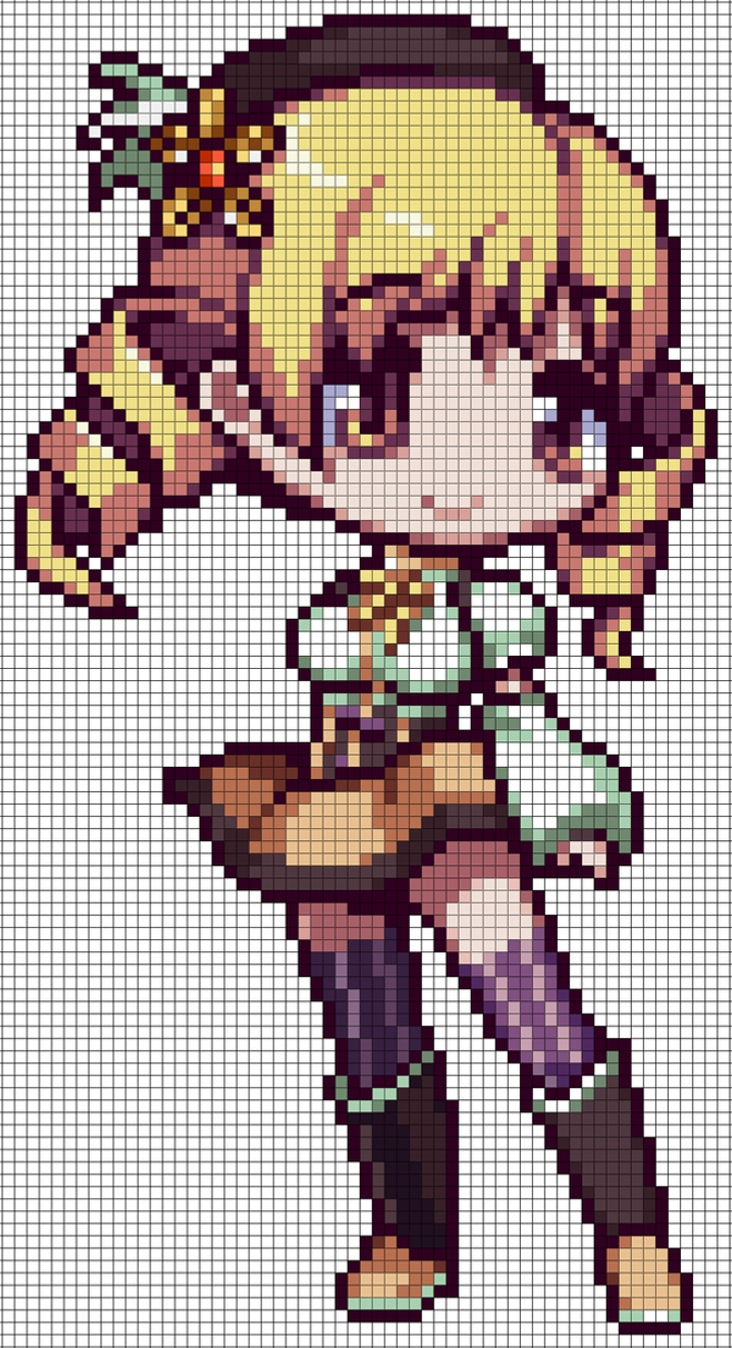 PMMM - Mami Tomoe Pattern by MaddogsCreations on DeviantArt