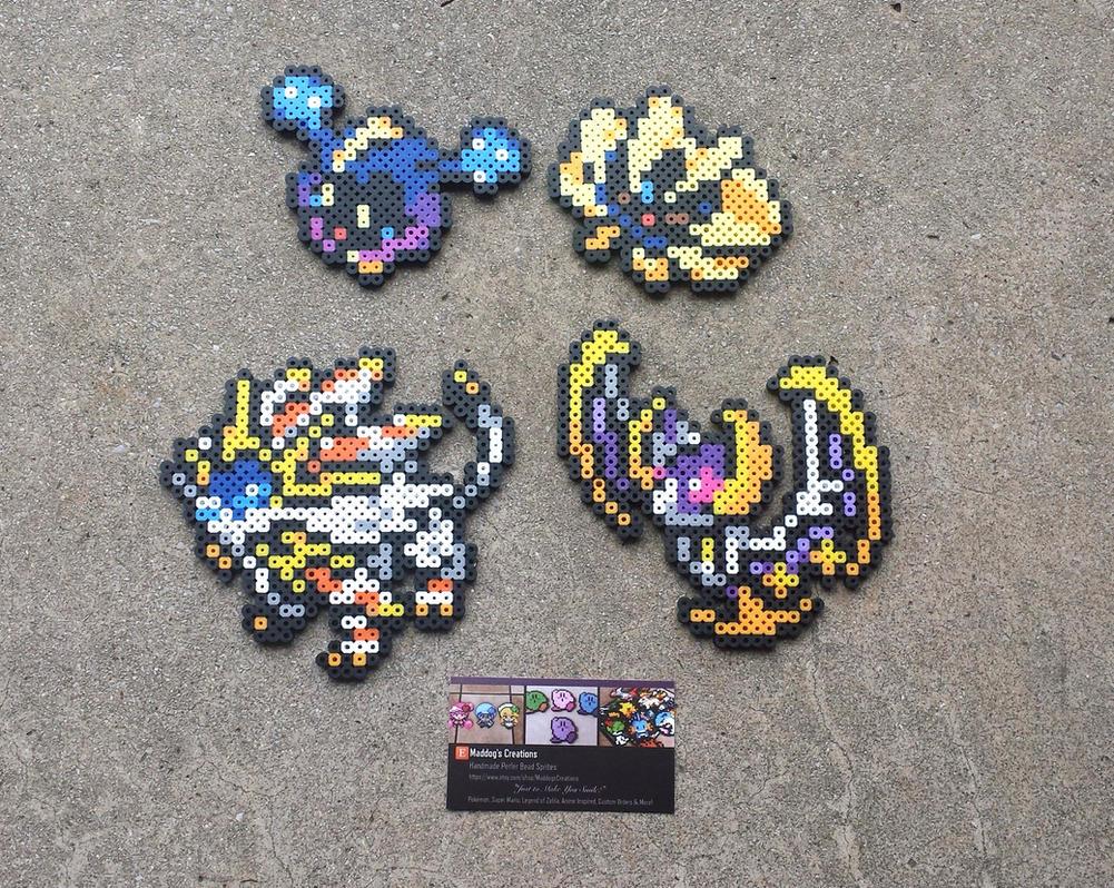 Sun + Moon Legends - Pokemon Perler Bead Sprites by MaddogsCreations