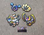 Sun + Moon Legends - Pokemon Perler Bead Sprites