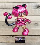 Mew Ichigo - Anime Perler Bead Sprite