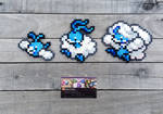 Swablu Family - Pokemon Perler Bead Sprites