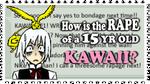 Rape is NOT ''kawaii'' by ChikitaWolf