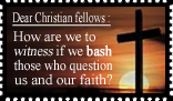 Dear Christian Fellows: by ChikitaWolf